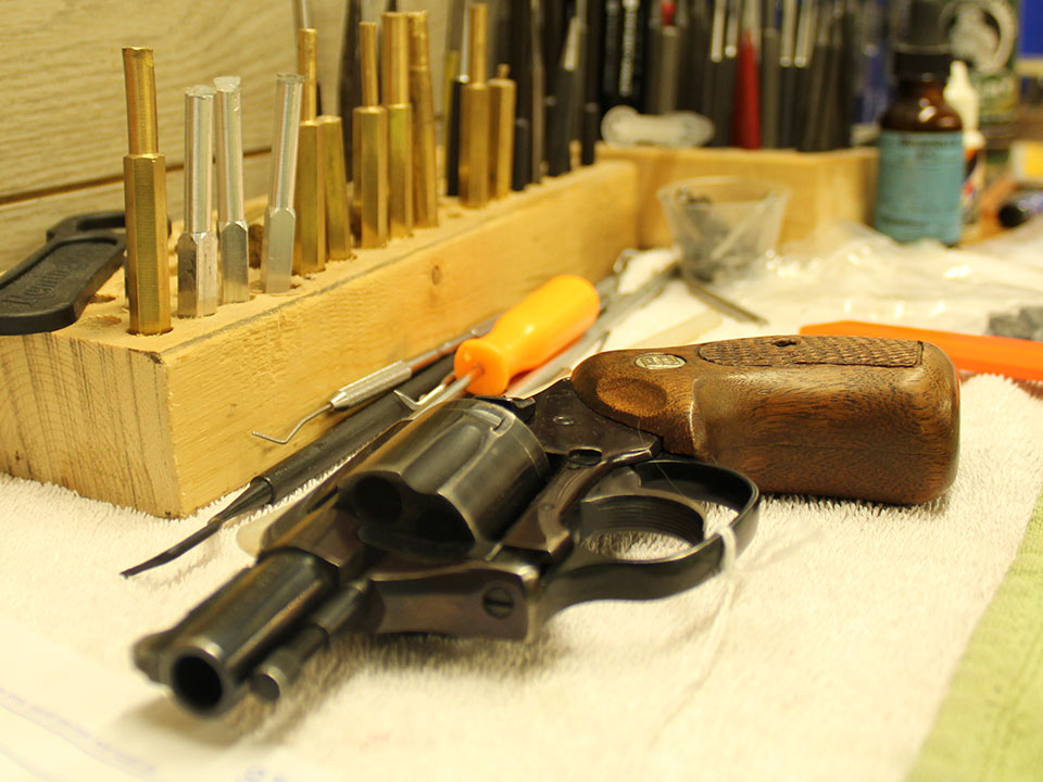 gunsmith services Meadville PA, firearms fixed